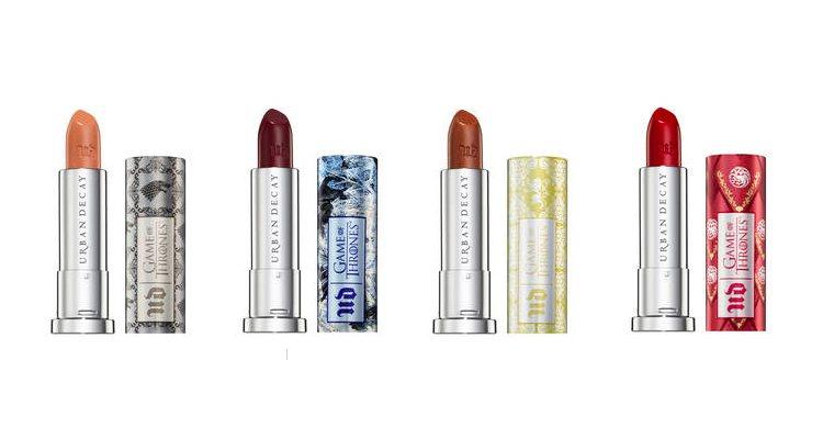 Los cuatro nuevos tonos inspirados en 'GoT' del 'Vice Lipstick' de UD