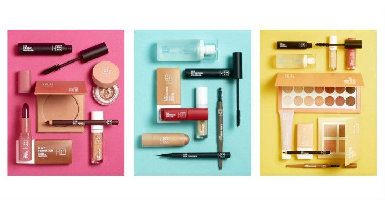 La colorida colección de maquillaje inclusiva de 3INA x Primark Beauty