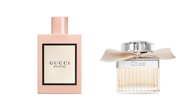 Perfumes 'Gucci Bloom' y 'Chloé'