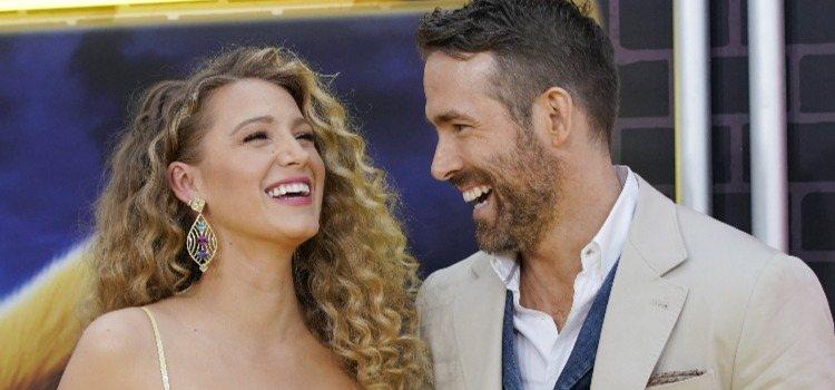 La actriz Blake Lively y su marido Ryan Reynolds, una de las parejas favoritas de Hollywood
