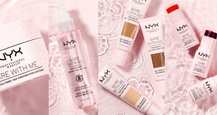 'Bare With Me', la nueva colección de maquillaje de NYX