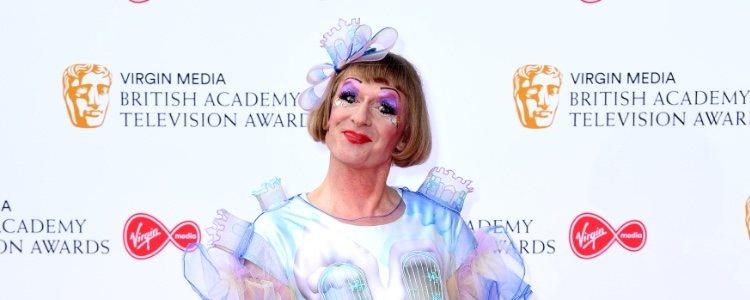 Grayson Perry, en los premios BAFTA de Londres