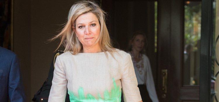 Máxima de Holanda despeinada en su visita a Etiopía