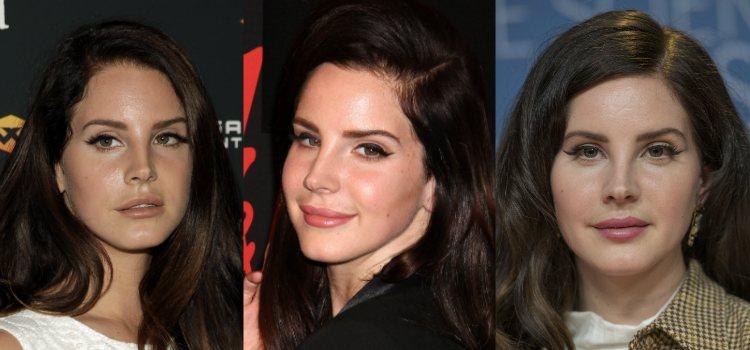 El delineado de Lana del Rey consigue aportar al look un aspecto vintage