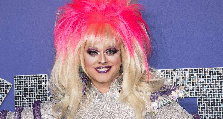 Paige Turner, la Drag queen estadounidense asistió a la premiere de 'Rocketman' con un look muy extravagante