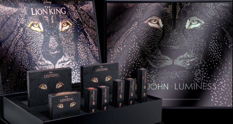 Los cosméticos de la colección 'El Rey León' de Sir John x Luminess