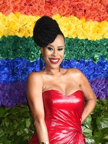 Dominique Morisseau en la gala de los Tony Awards 2019