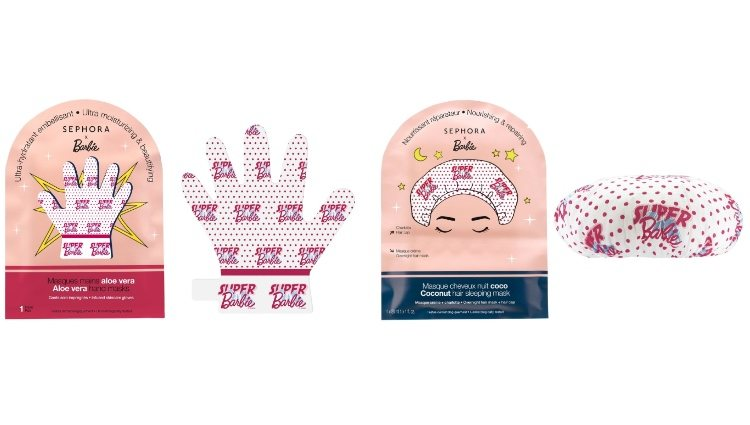Máscara de manos y pelo de la nueva colección de Sephora x Barbie