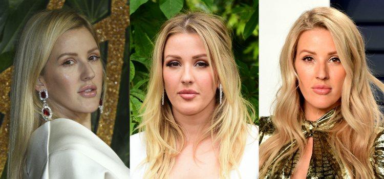 El brillo de labios es esencial en todos los looks de Ellie Goulding