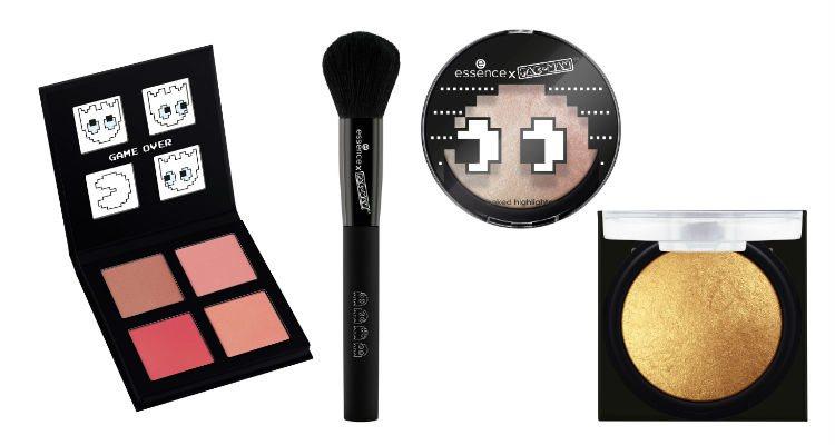 Los productos para el rostro de la colección Essence x Pac-Man