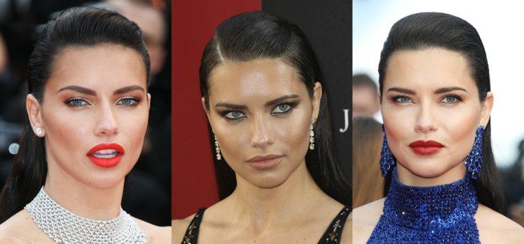 Adriana Lima esculpe su rostro con tonos tierra