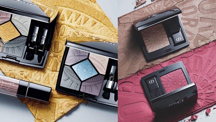 Sombras de la colección de Dior