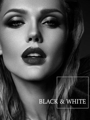Imagen promocional de perfumes 'Black&White' de Elio Berhanyer