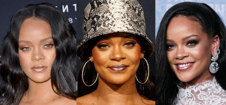 Para la piel Rihanna apuesta por la luminosidad