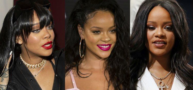 Rihanna se atreve con cualquier color para maquillar sus labios