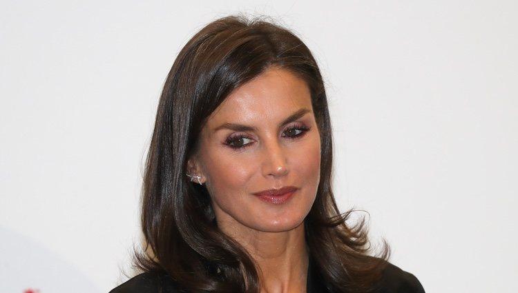 Doña Letizia: naturalidad en el peinado y maquillaje