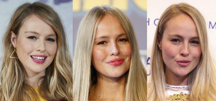 La actriz consigue un efecto ahumado solo con el eyeliner gracias a la forma de sus ojos