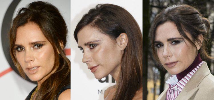 Victoria Beckham apuesta por unas cejas despeinadas para conseguir un look 'sin esfuerzo'