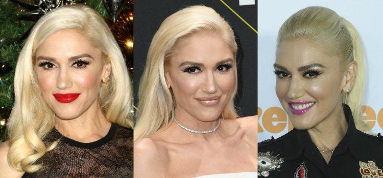 Para darle intensidad a la mirada Gwen Stefani apuesta por unas voluminosas pestañas postizas