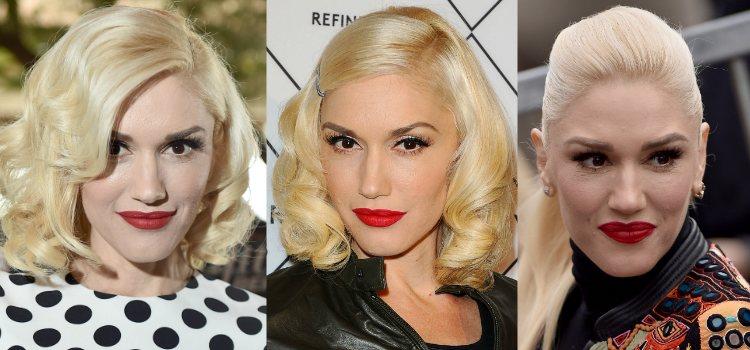 Gwen Stefani maquilla la piel con bases de una cobertura muy elevada
