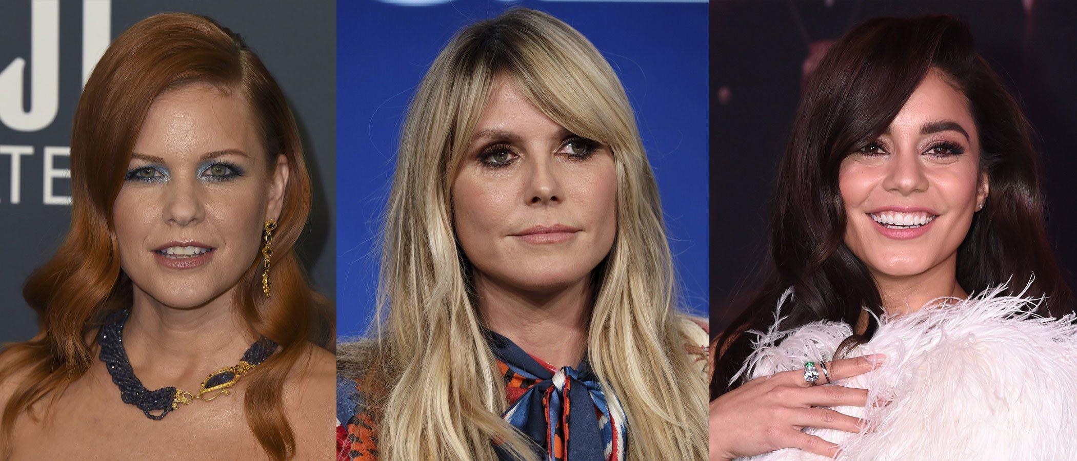 Heidi Klum y Vanessa Hudgens protagonizan los peores beauty looks de la semana