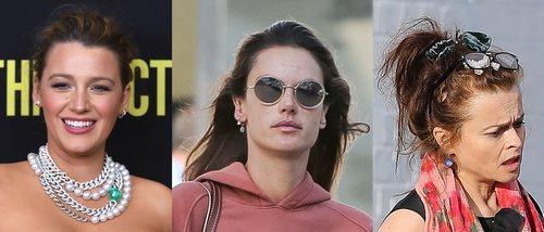 Blake Lively, Alessandra Ambrosio y Helena Bonham lucen dos de los peores beauty looks de la semana