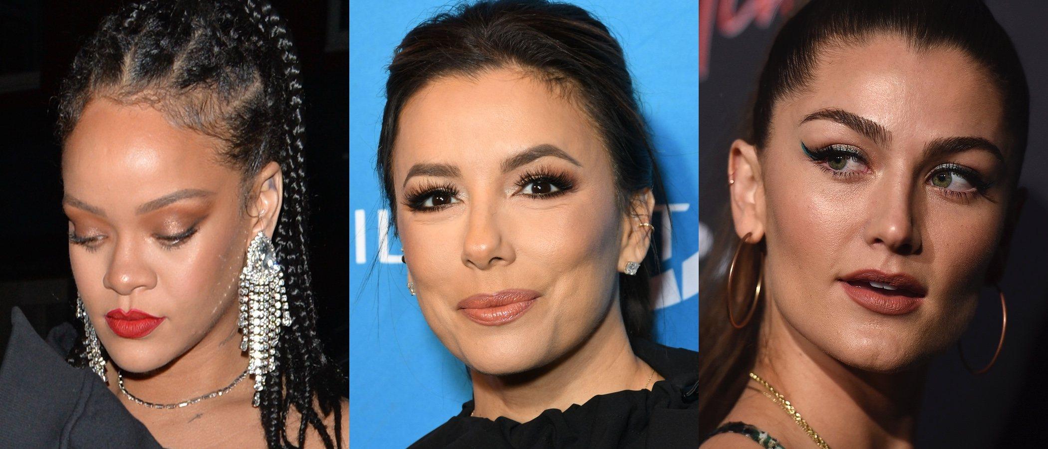 Rihanna, Eva Longoria y Rachel Matthews lucen los mejores beauty looks de la semana