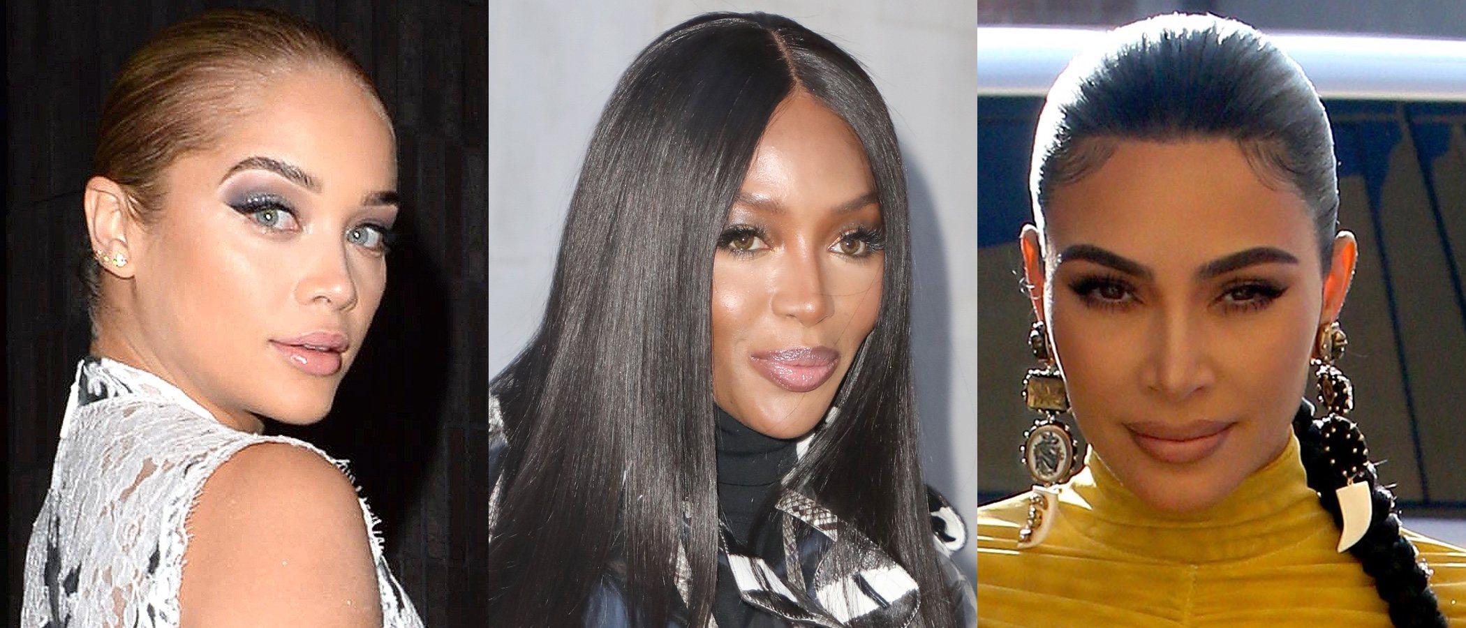 Jasmine Sanders, Naomi Campell y Kim Kardashian lucen los mejores beauty looks de la semana