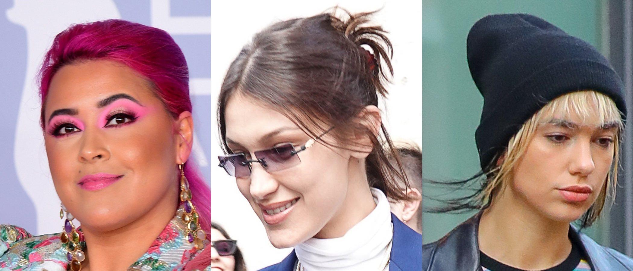 Megan Jayne Crabbe, Bella Hadid y Dua Lipa lucen los peores beauty looks de la semana