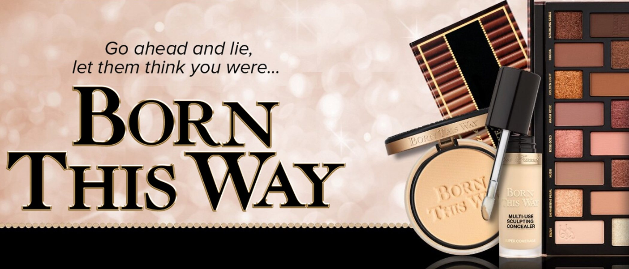 'Born This Way' de Too Faced lanza dos nuevas paletas nude