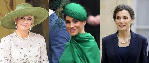 Máxima de Holanda, Meghan Markle y la Reina Letizia lucen los mejores beauty looks de la semana