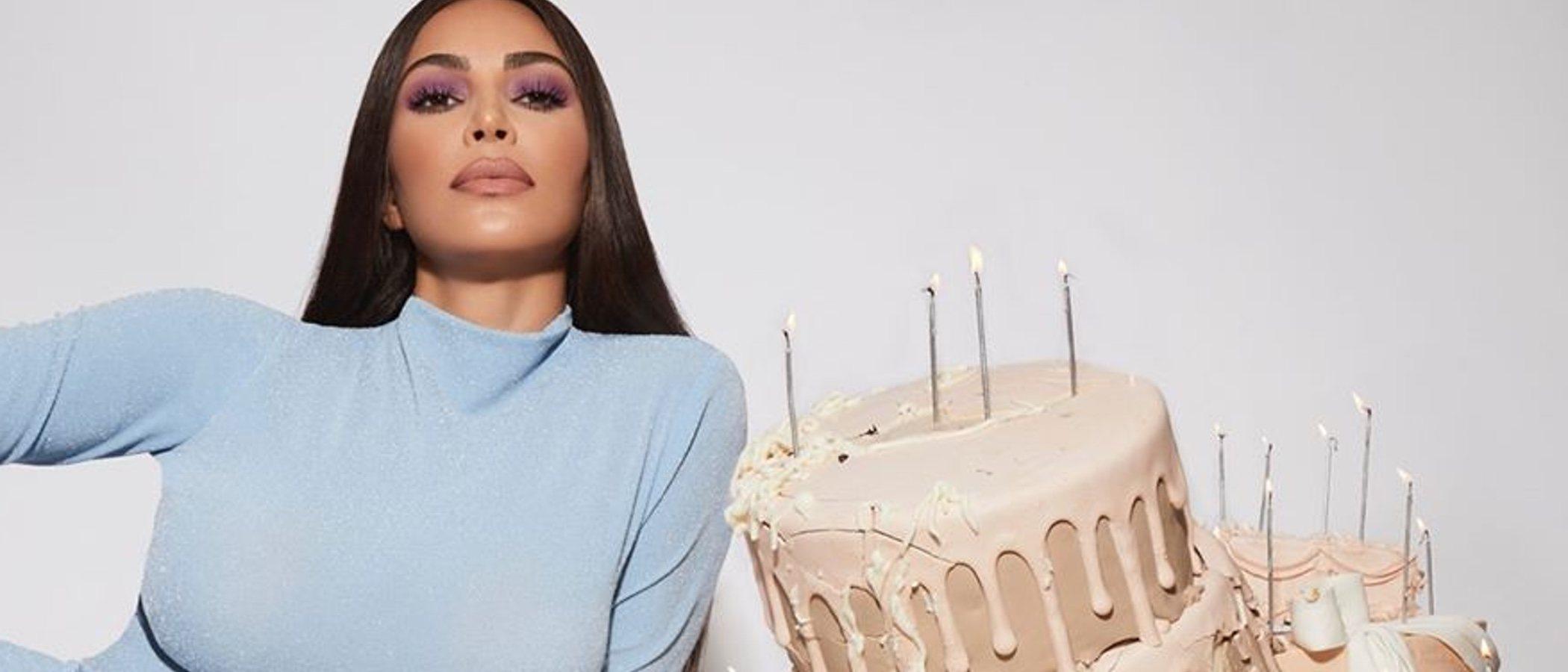 Así es 'The Opalescent Collection', la colección de maquillaje de Kim Kardashian por su 40 cumpleaños