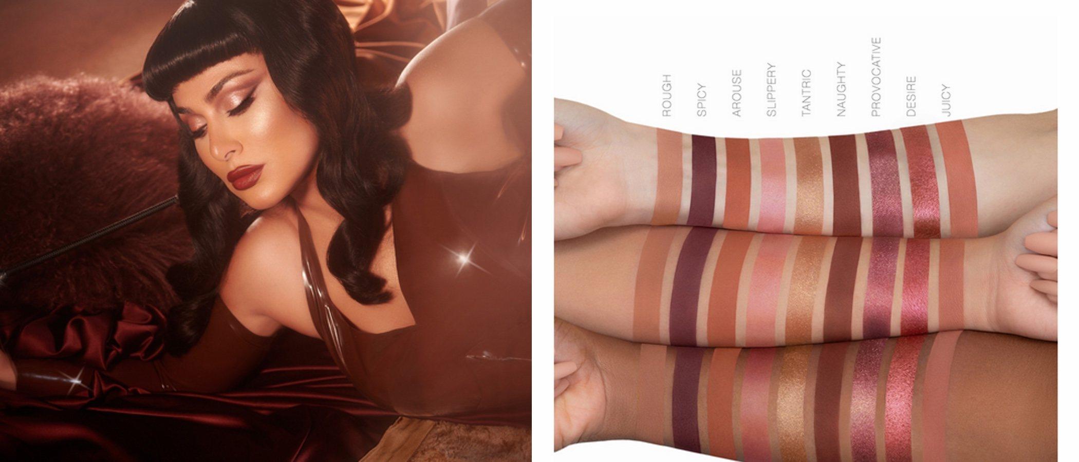 Huda Beauty lanza su nueva paleta de sombras de ojos 'La Naughty Nude'