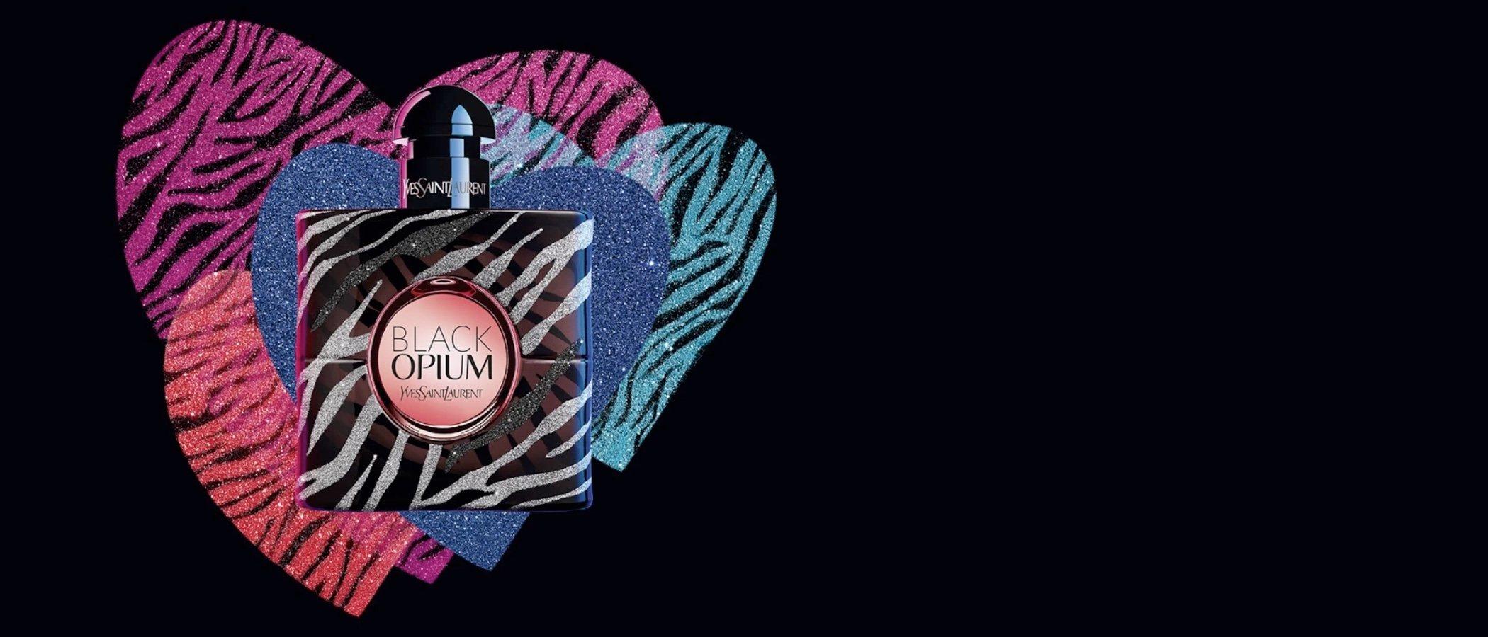 Yves Saint Laurent se pone brilli brilli con el lanzamiento de 'Black Opium Zebra'