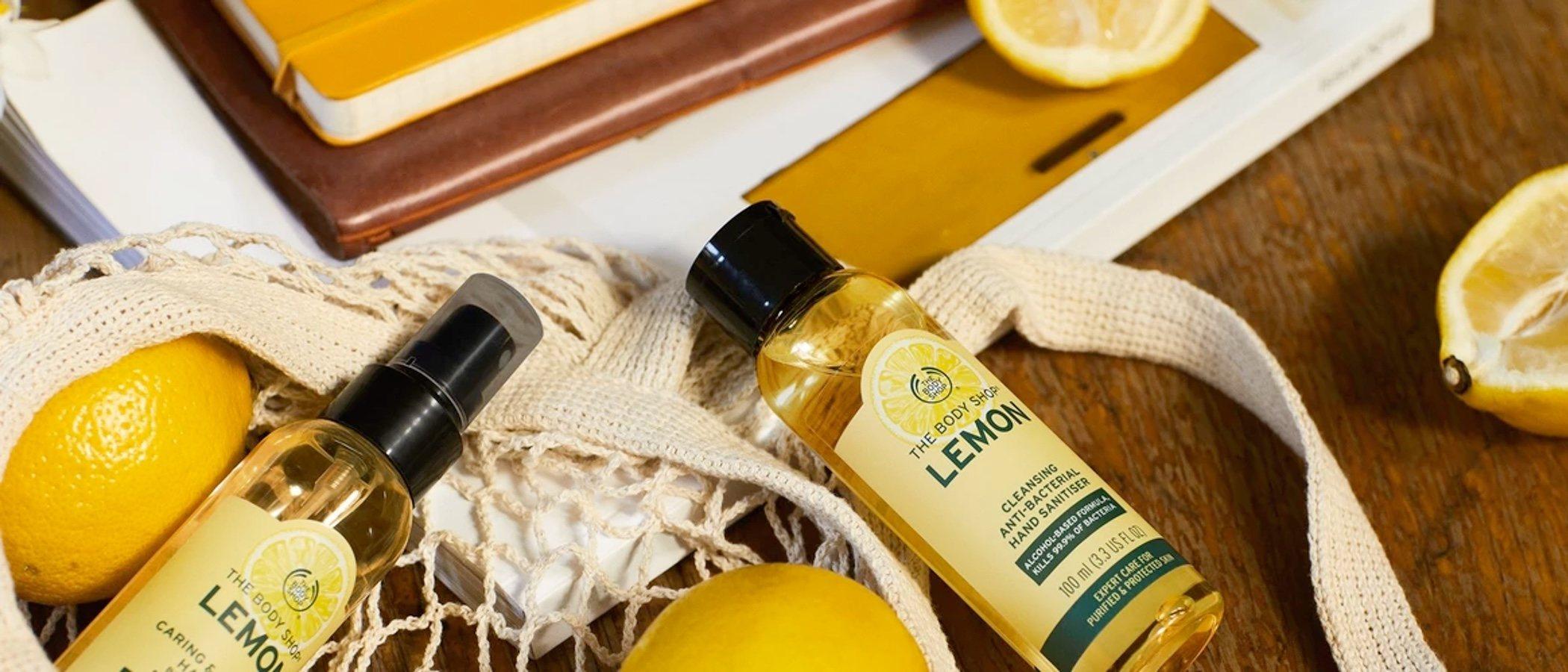 The Body Shop lanza una línea purificante, protectora y antibacteriana de limón