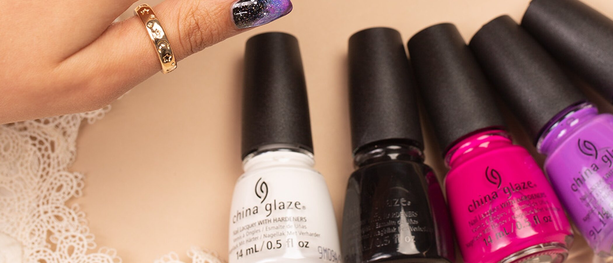 Manicura profesional en casa con los esmaltes China Glaze