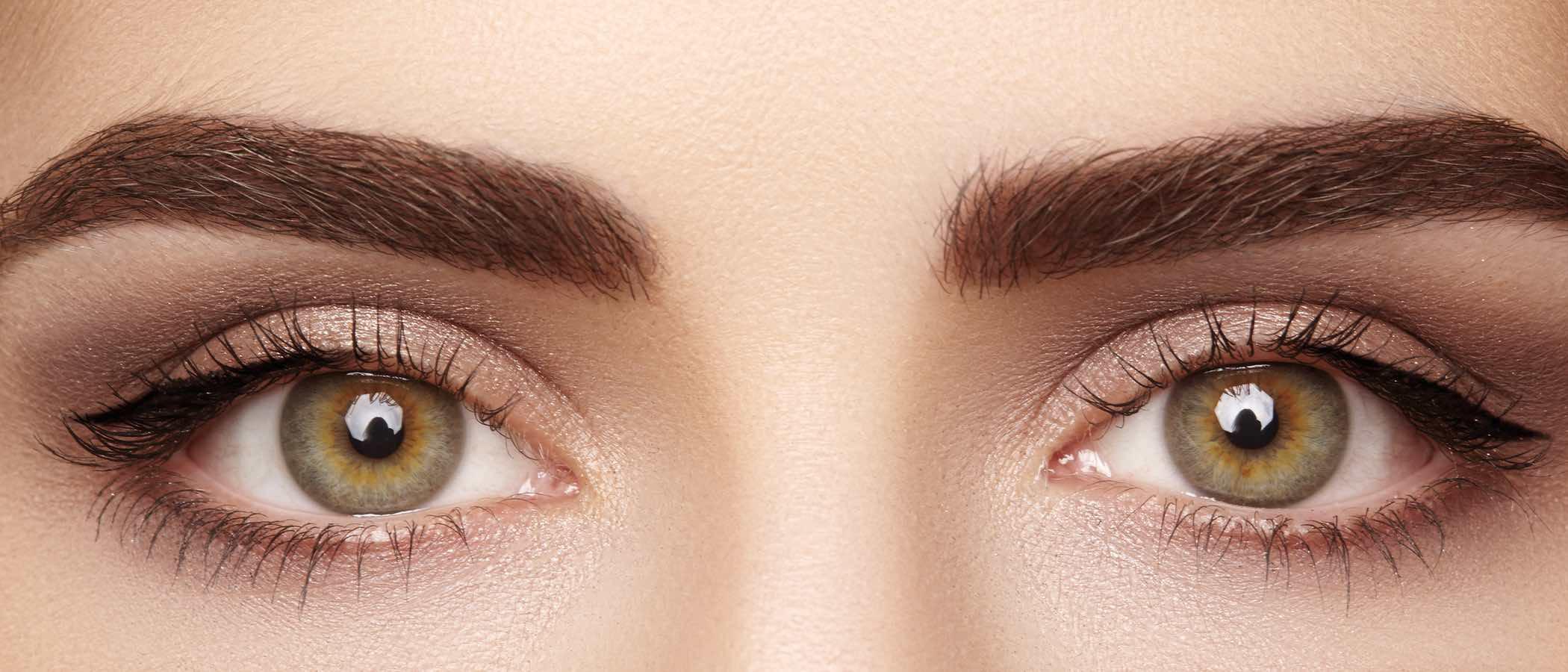 Maquillaje de los ojos almendrados