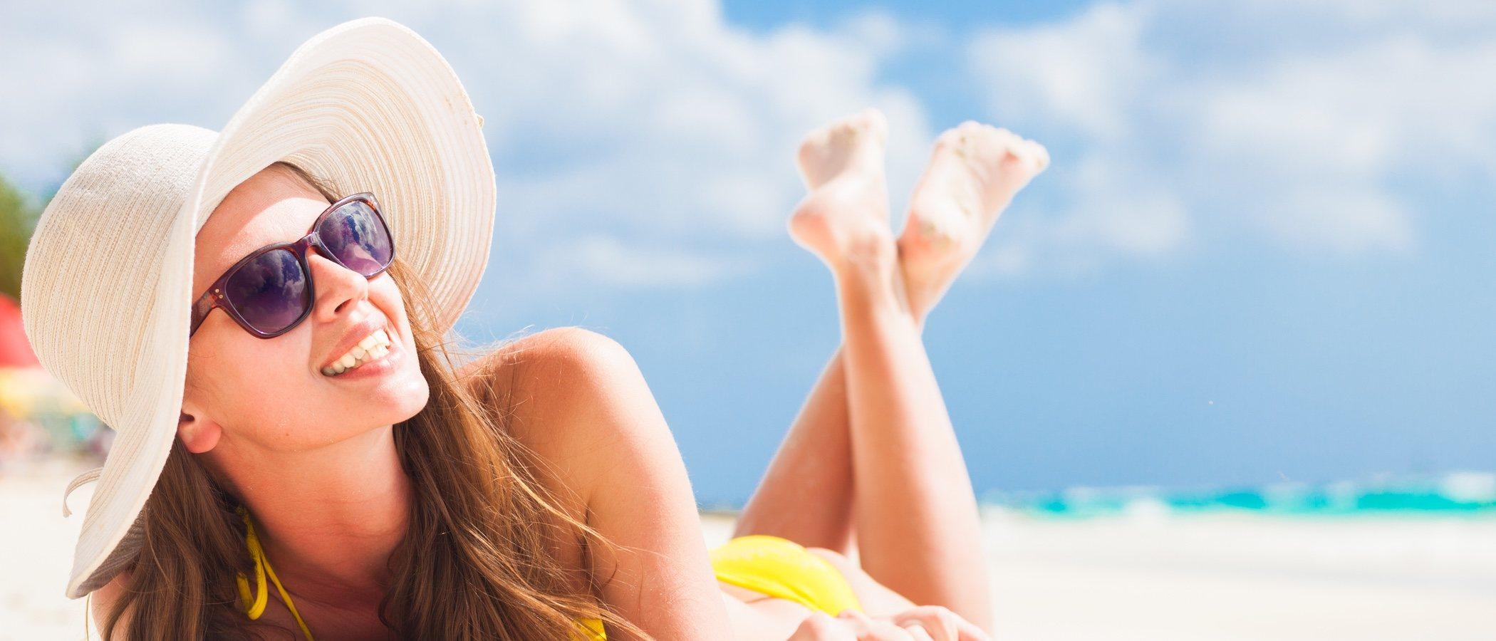 Protege tu piel de los rayos UVA