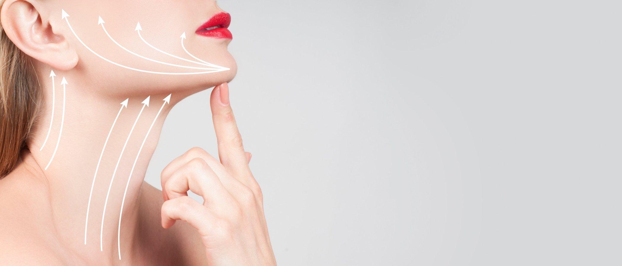 Botox contra las arrugas del cuello