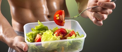 Hombres: Dieta para muscular tu cuerpo