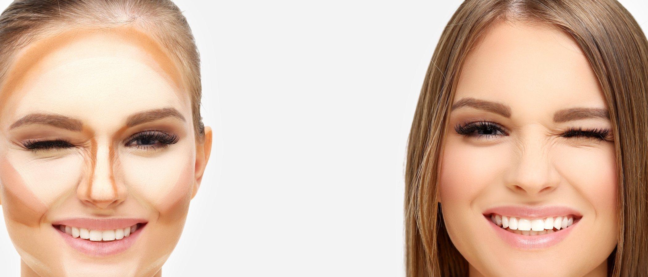 Qué es el contouring: así es la nueva técnica de maquillaje