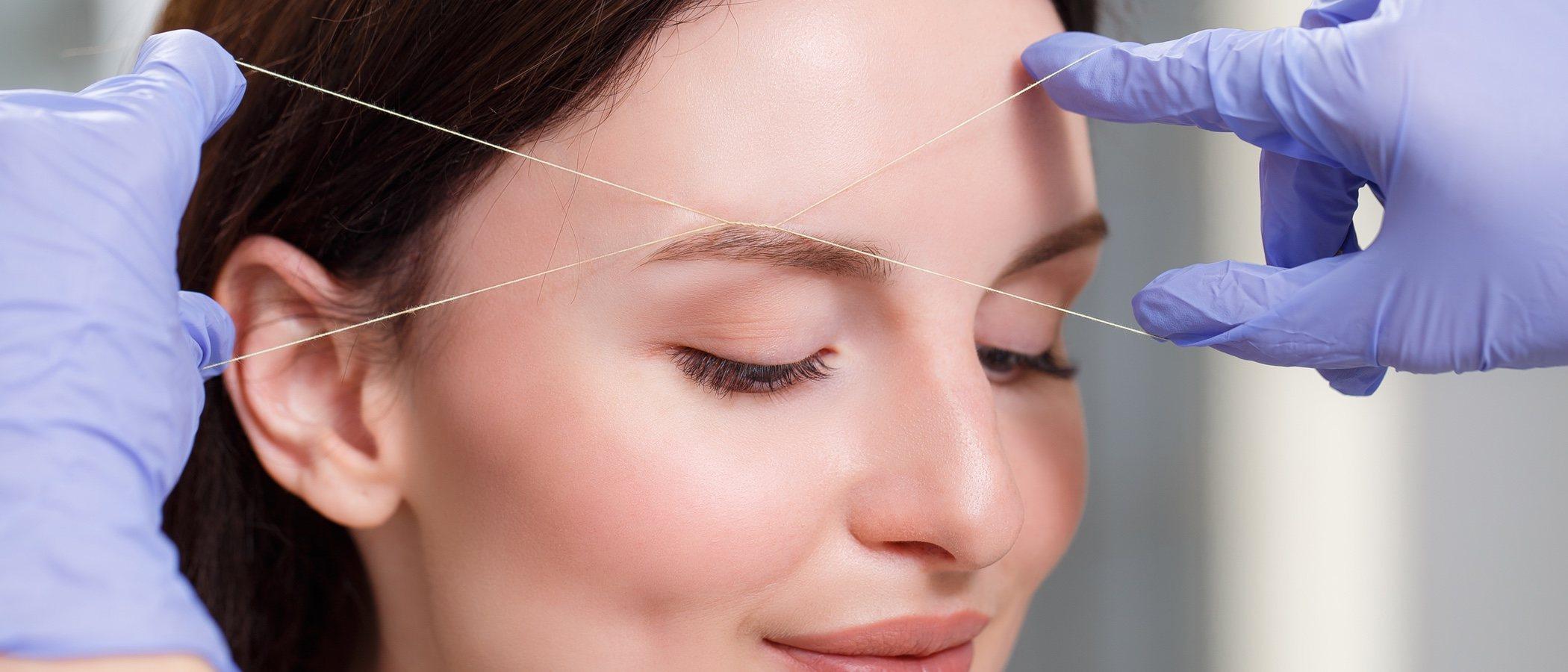 Ventajas y riesgos de la depilación con hilo