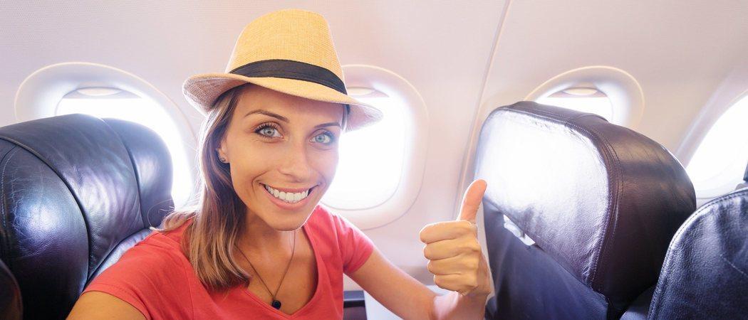 Cómo maquillarse para viajar en avión