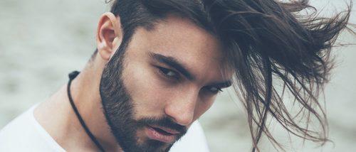 Corte de cabello fleco hombre