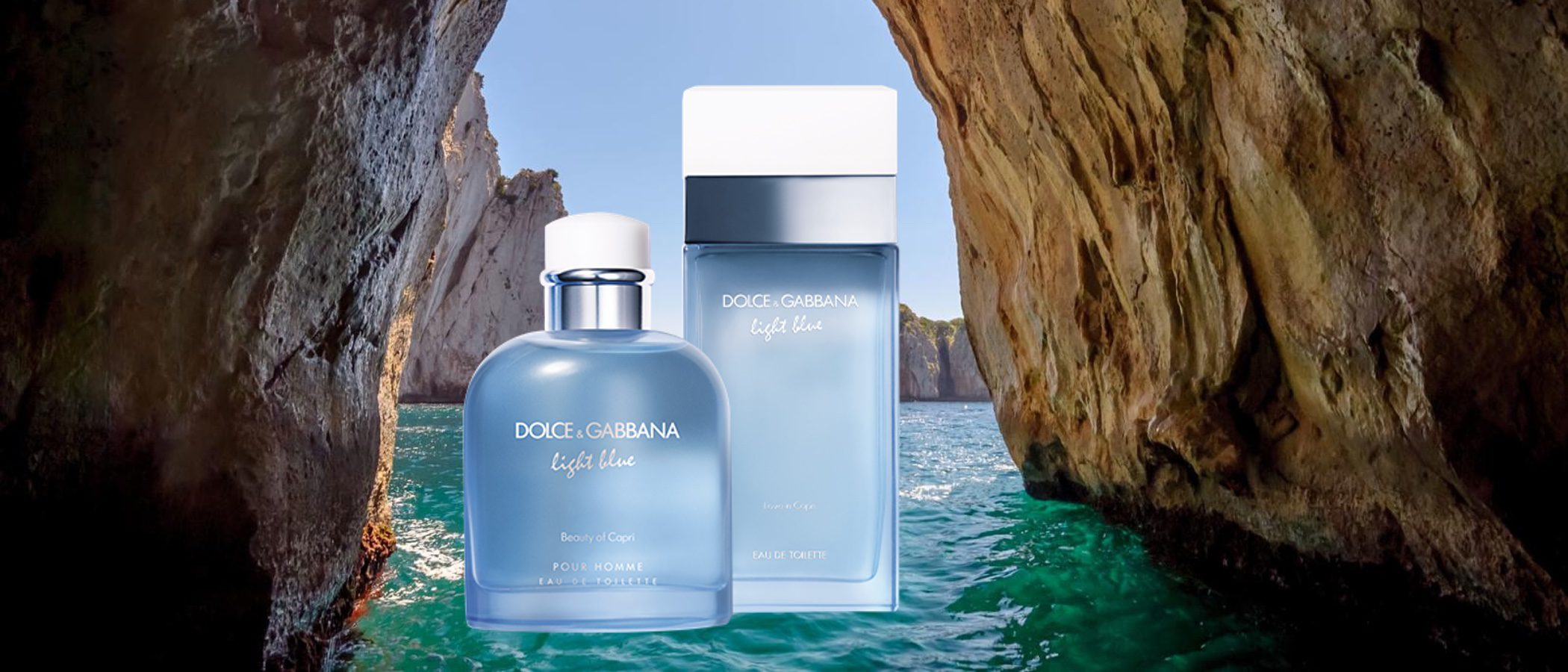 'Love in Capri' y 'Beauty of Capri', las fragancias limitadas de Dolce & Gabbana para este verano