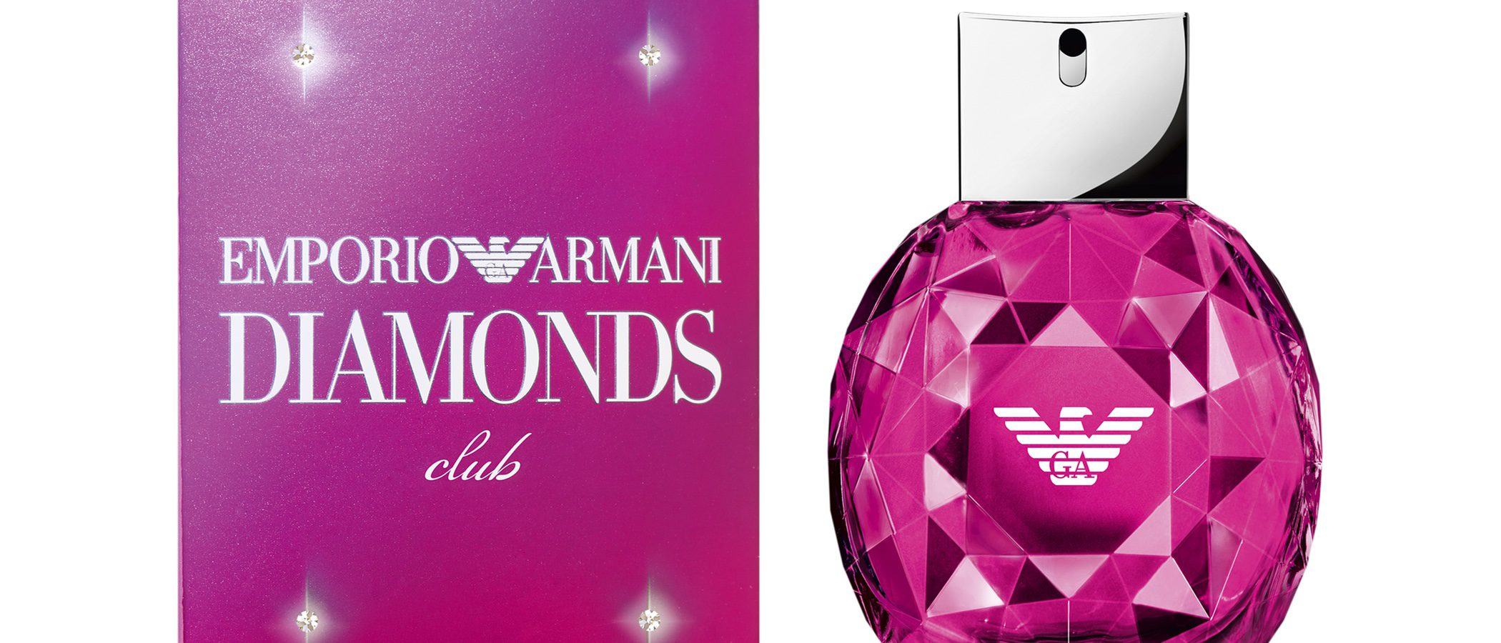 Llegan las apasionadas fragancias de 'Emporio Armani Diamonds'