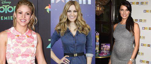 Shakira, Pilar Rubio y Edurne destacan entres los mejor beauty looks de las WAGs