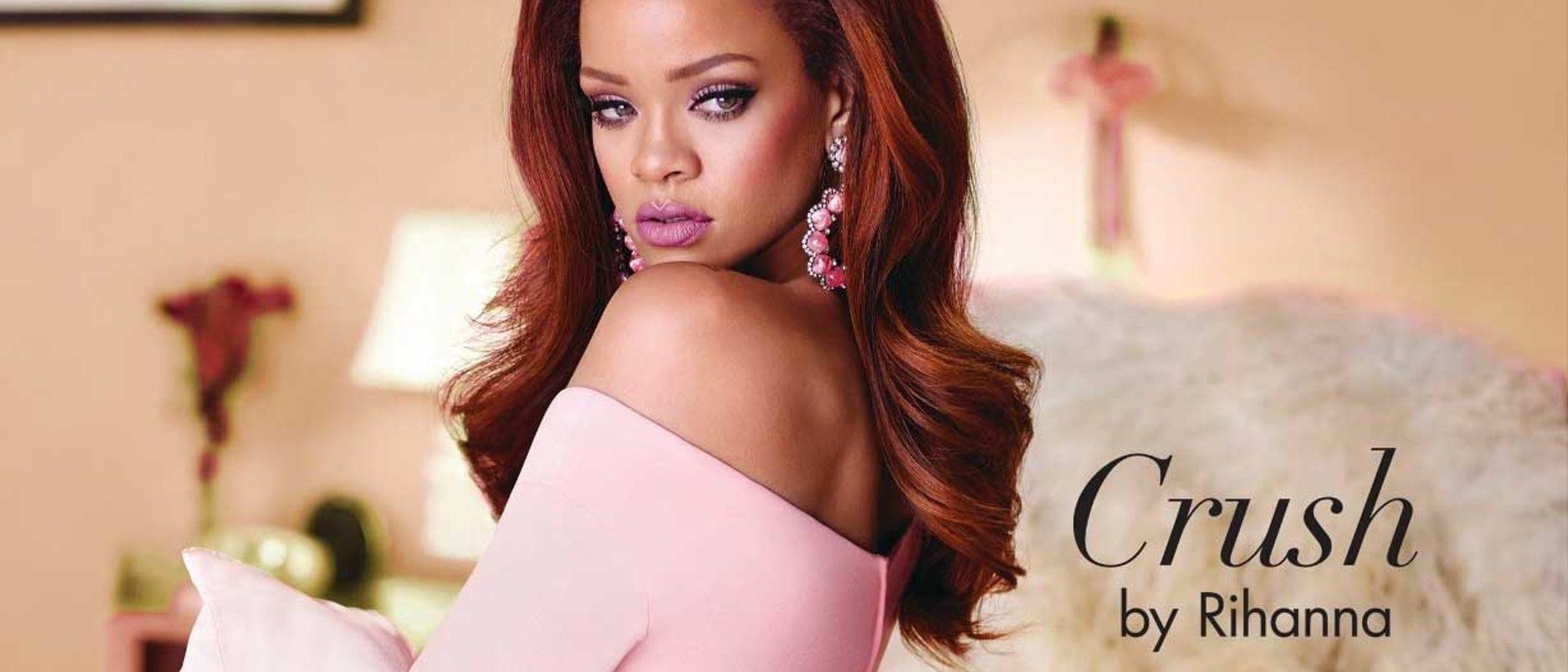 Rihanna quiere enamorar con su nueva fragancia floral oriental: 'Crush'