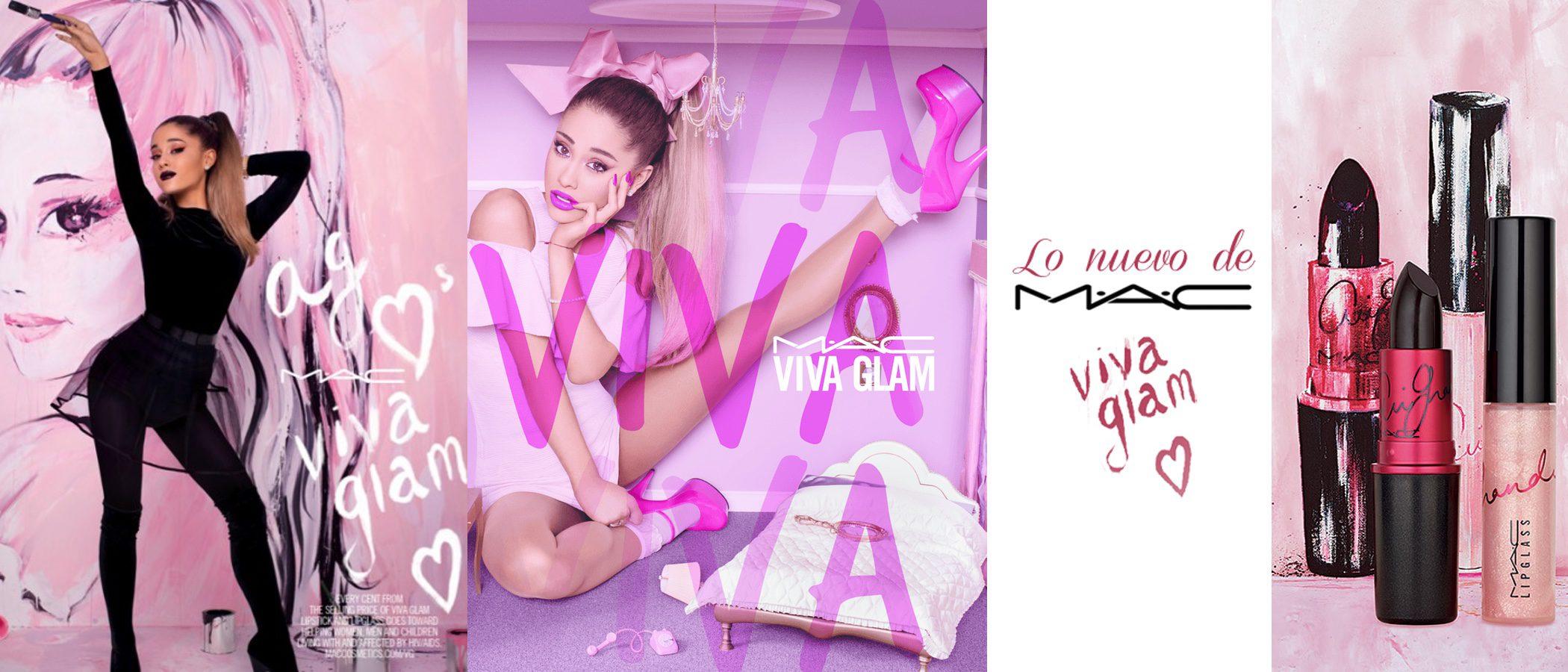 Ariana Grande vuelve a ser el rostro de 'Viva Glam', la campaña benéfica de MAC