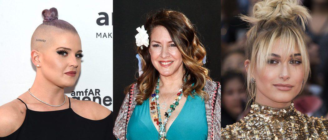 Kelly Osbourne, Joely Fisher y Hailey Baldwin han lucido los peores beauty looks de la semana